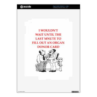 doctor joke decal for the iPad 2