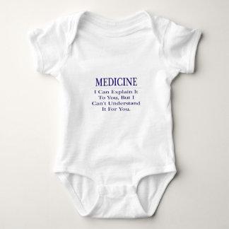 Doctor Joke .. Explain Not Understand Baby Bodysuit