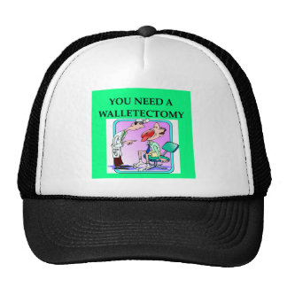 doctor joke. mesh hat