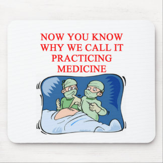 DOCTOR joke Mouse Pad