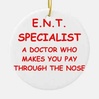 doctor joke ornaments