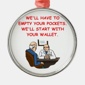 doctor joke christmas ornament