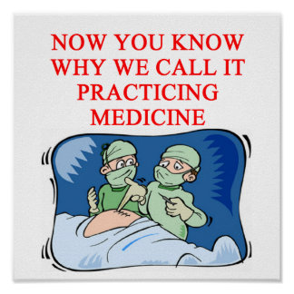 DOCTOR joke Poster
