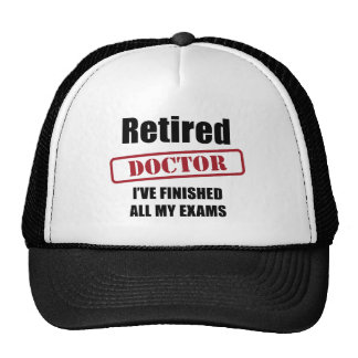 Doctor jubilado gorro