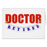 Doctor jubilado tarjetón