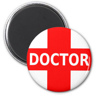 Doctor Logo 2 Inch Round Magnet