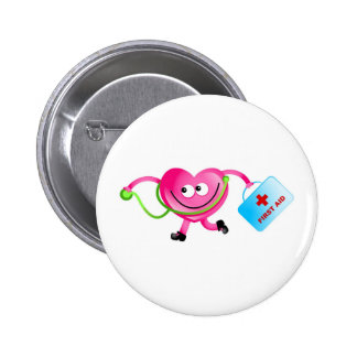 Doctor Love Pinback Button