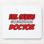Doctor malvado del genio… tapete de raton