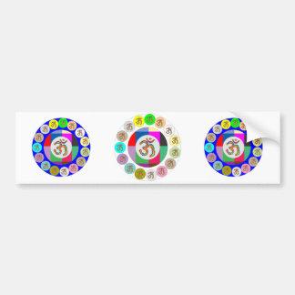 Doctor Mantra - Chant 108 times Stick 108 times Bumper Sticker