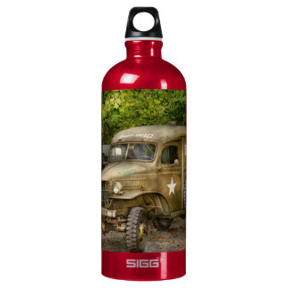 Doctor - MASH Unit Aluminum Water Bottle