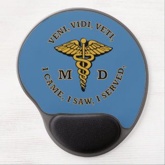 Doctor MD Caduceus VVV Shield Gel Mouse Pad