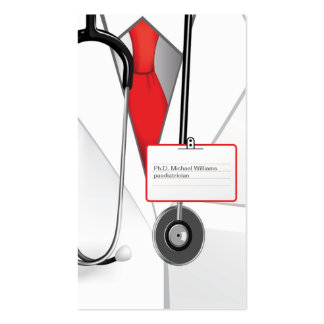 Doctor Medicines Business Card