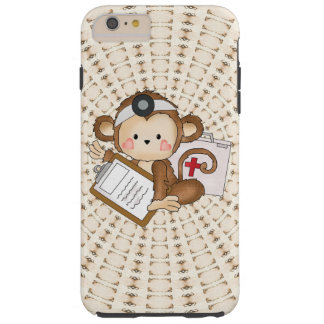 Doctor Monkey iPhone 6 plus tough case