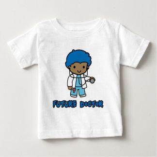 Doctor (muchacho) playera de bebé