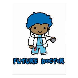 Doctor muchacho tarjeta postal