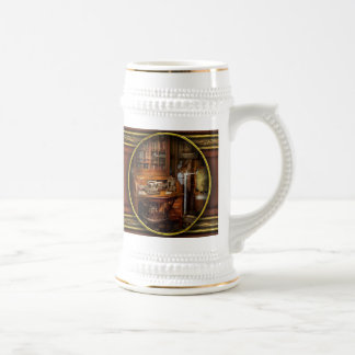 Doctor - My tiny little office Beer Stein