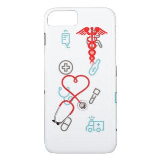 Doctor Nurse Business Medical Emergency EMT iPhone 7 Case