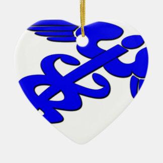Doctor nurse emt hospital health medic ceramic ornament