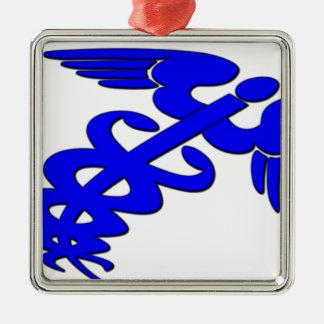 Doctor nurse emt hospital health medic metal ornament