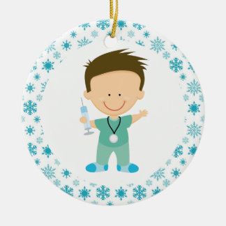 Doctor Nurse Intern Funny Medical Ornament Gift