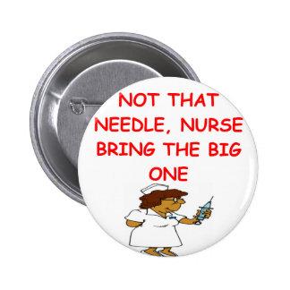 doctor nurse joke buttons