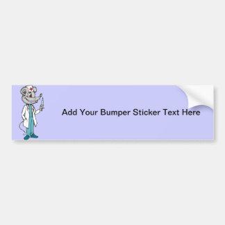 Doctor Nurse Mouse Bumper Sticker