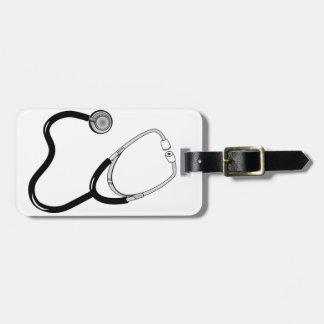 Doctor Nurse Sports Medicine Stethoscope Destiny Bag Tag