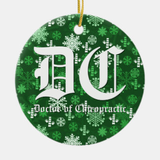 Doctor of Chiropractic Christmas Ornament