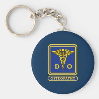 Doctor of Osteopathic Medicine Basic Round Button Keychain