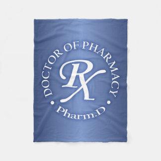 Doctor of Pharmacy Fleece Blanket