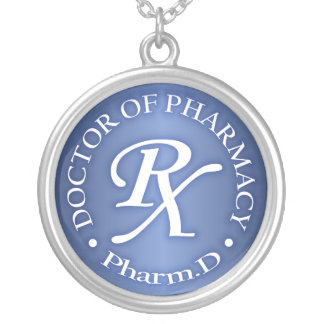 Doctor of Pharmacy Round Pendant Necklace