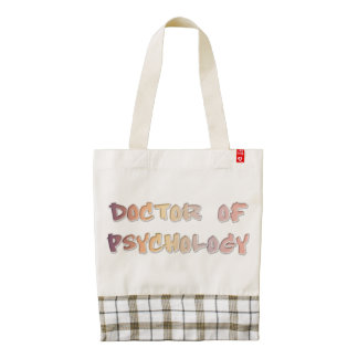 Doctor of Psychology Zazzle HEART Tote Bag
