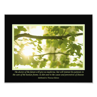 "Doctor of the Future Quote 11"" x 8.5"" Photo Print"