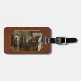 Doctor - Old fashioned influence - 1905-45 Luggage Tag