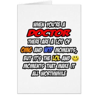 Doctor. OMG WTF LOL Tarjetas