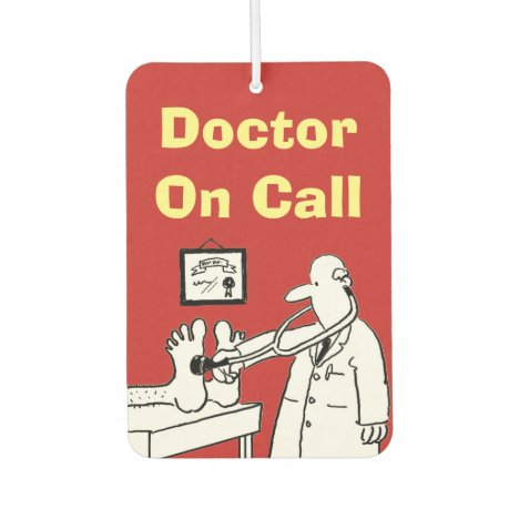 Doctor On Call Air Freshener