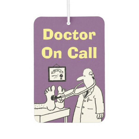 Doctor On Call Car Air Freshener