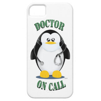 Doctor on Call Penguin iPhone 5 Covers