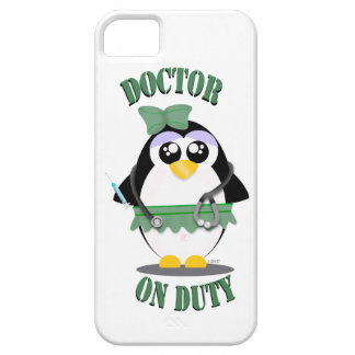 Doctor on Duty Penguin (female) iPhone 5 Covers