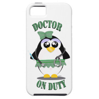 Doctor on Duty Penguin (female) iPhone 5 Case
