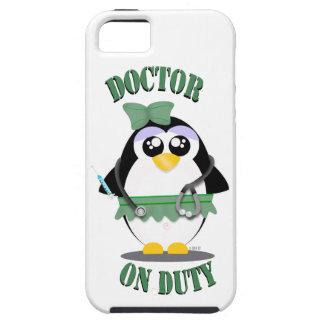 Doctor on Duty Penguin (female) iPhone SE/5/5s Case