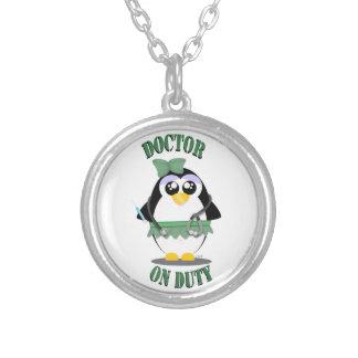 Doctor on Duty Penguin (female) Pendants