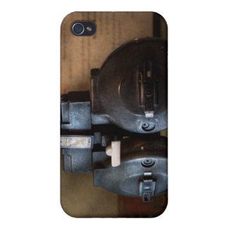 Doctor - optometría - un viejo phoropter iPhone 4 funda