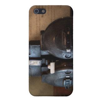 Doctor - optometría - un viejo phoropter iPhone 5 carcasas
