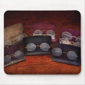 Doctor - Optometrist - Array of Opticals Mousepads