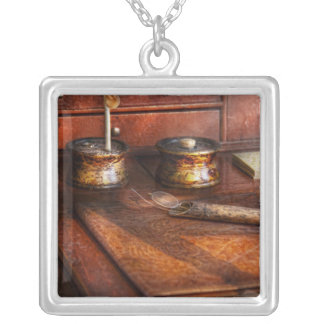Doctor - Optometrist - I need my reading glasses Square Pendant Necklace