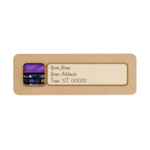 Doctor - Optometrist - Many styles to choose from Return Address Label