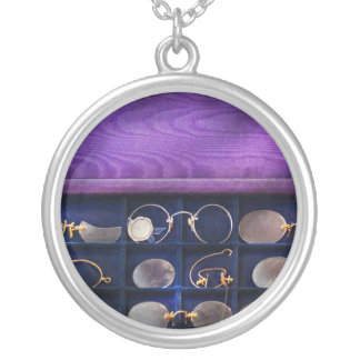 Doctor - Optometrist - Many styles to choose from Round Pendant Necklace