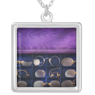 Doctor - Optometrist - Many styles to choose from Square Pendant Necklace