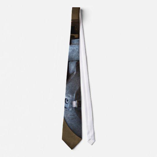 Doctor - Optometry - An old phoropter Neck Tie